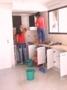 Küche_putzen